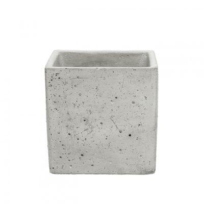 Cement Square Flower Pot [12 cm]
