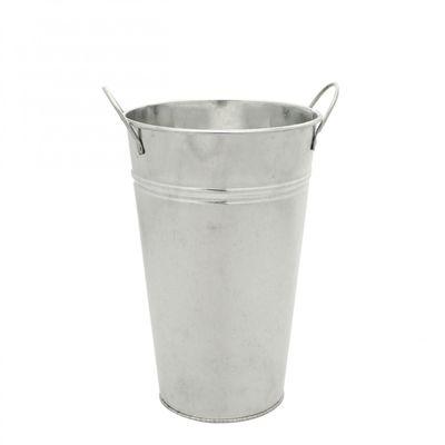 Galvanised Vase (25cm)