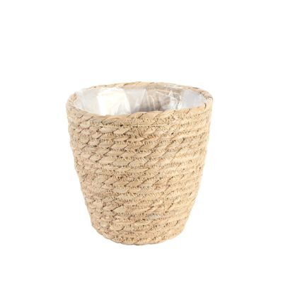 Round Natural Seagrass Basket [16 cm]