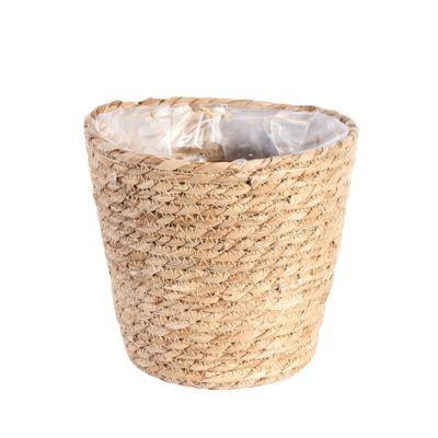 Round Natural Seagrass Basket [19 cm]