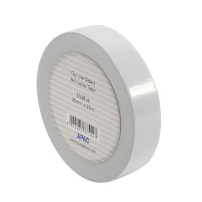 Double Sided Adhesive Tape (25mm x 25m)
