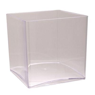 10cm Acrylic Cube Vase