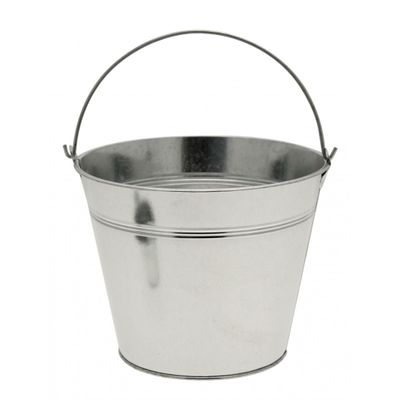 Galvanised Bucket 12.5cm