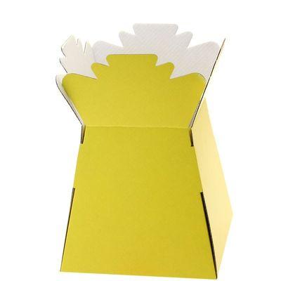 Bright Yellow Living Vase