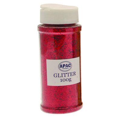 Red Glitter 100g