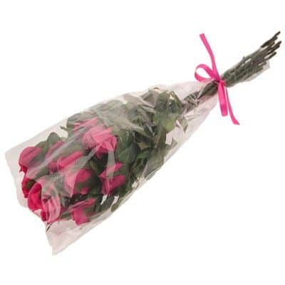 Hot Pink Rose Bunch