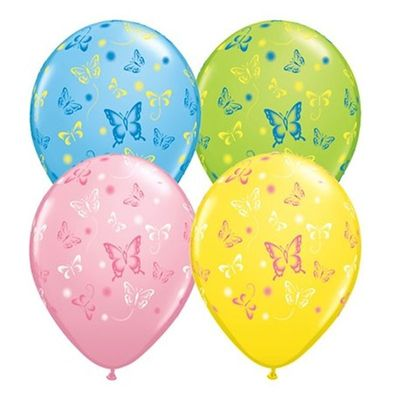 Butterfly Latex Balloons