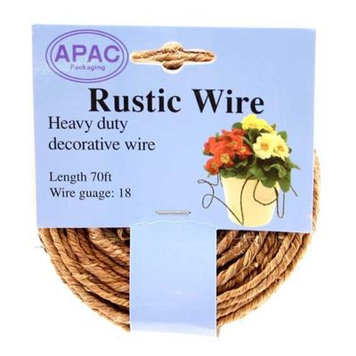 Natural Rustic Wire