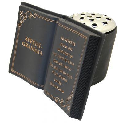 Grandma – Black Memorial Pot