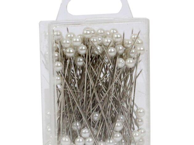 White Pearl Headed Pins