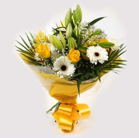 Lemon & White Bouquet