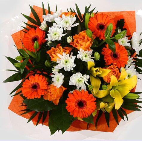 Orange Burst Bouquet