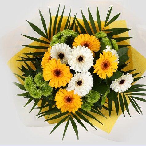 Yellow Cream Bouquet