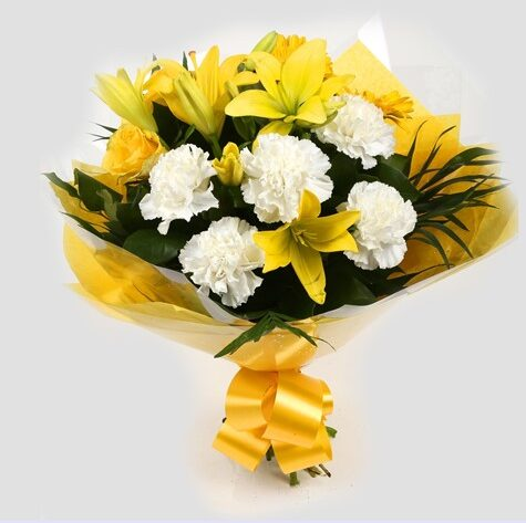 Golden Sunshine Bouquet