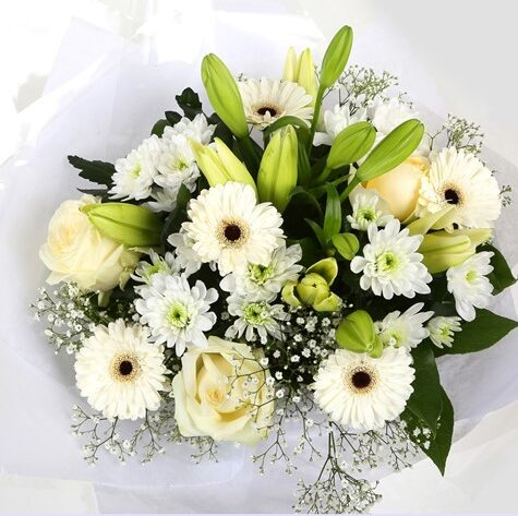 White Petite Bouquet