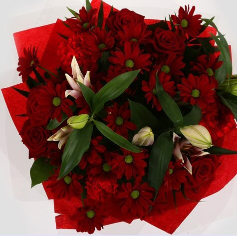 Red Rapture Bouquet