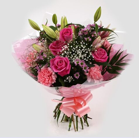 Pink Crystal Bouquet