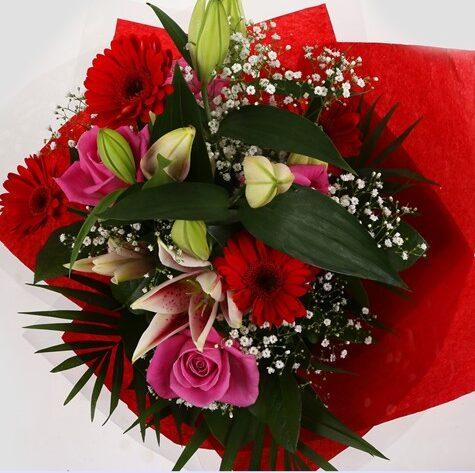 Pink Oriental Bouquet