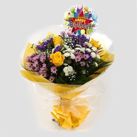 Birthday Balloon & Charm Bouquet