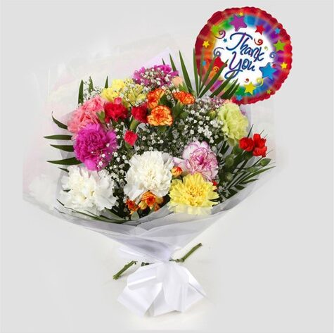 Thank You Balloon & Lollipop Star Bouquet