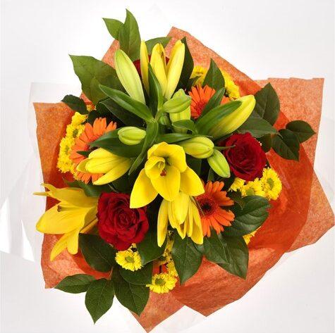 Sunshine Orange Bouquet