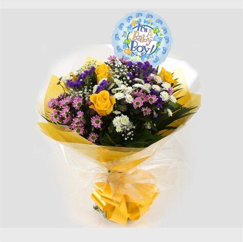 Its a Boy Balloon & Charm Bouquet