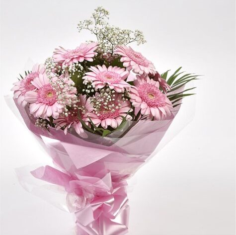 Pink Lady Gerbera Bouquet